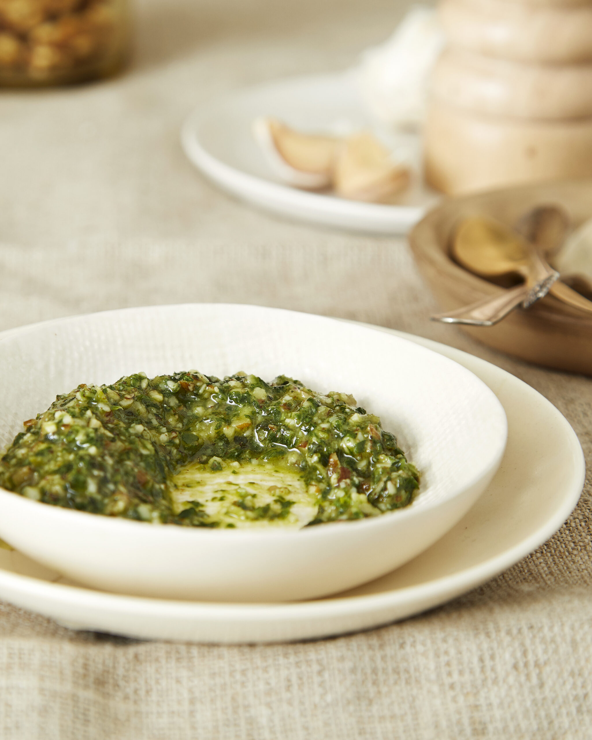 At-home pesto recipe and instructions