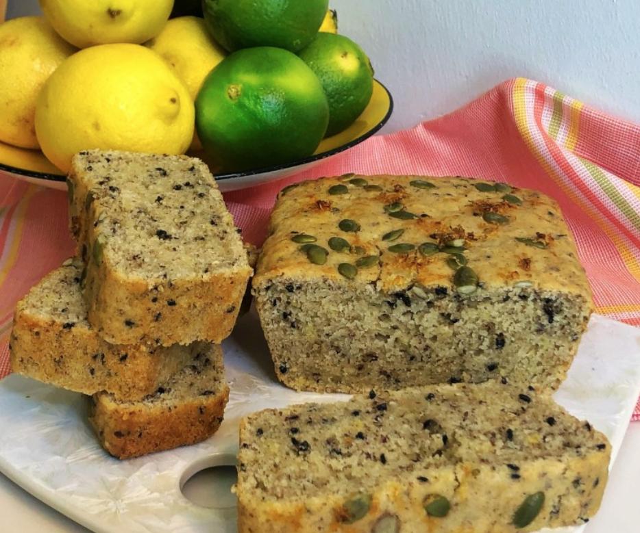 Vegan Lemon Sice Loaf