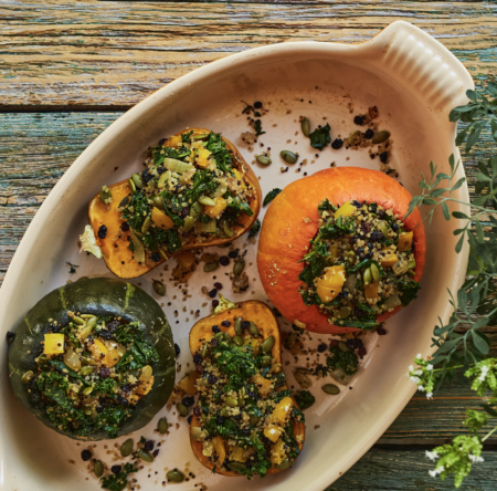 stuffed mini squash