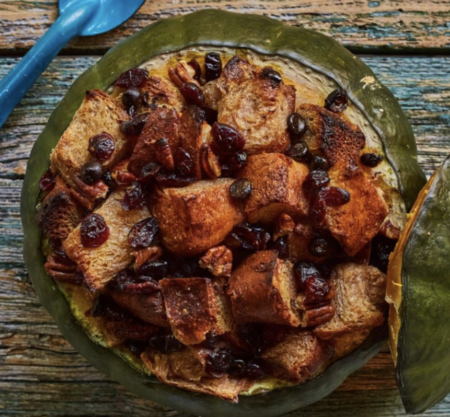 bread pudding squash