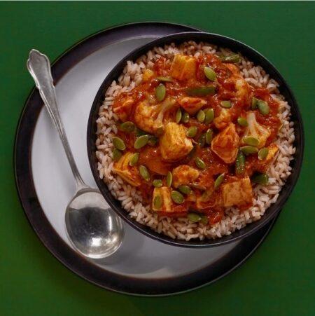 Turkey Curry by Christine Tizzard