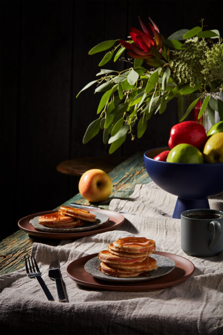 the most delicious apple pancakes
