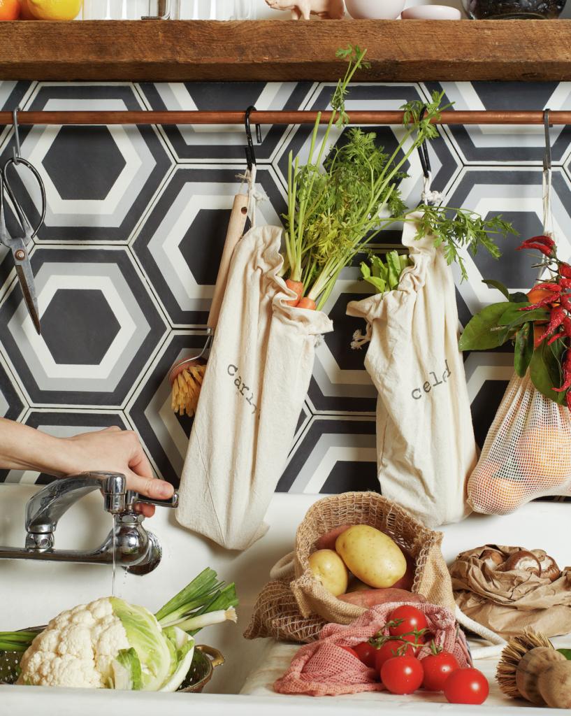 Zero waste recipes. Photo includes cauliflower, potatoes, carrots, and tomatoes.