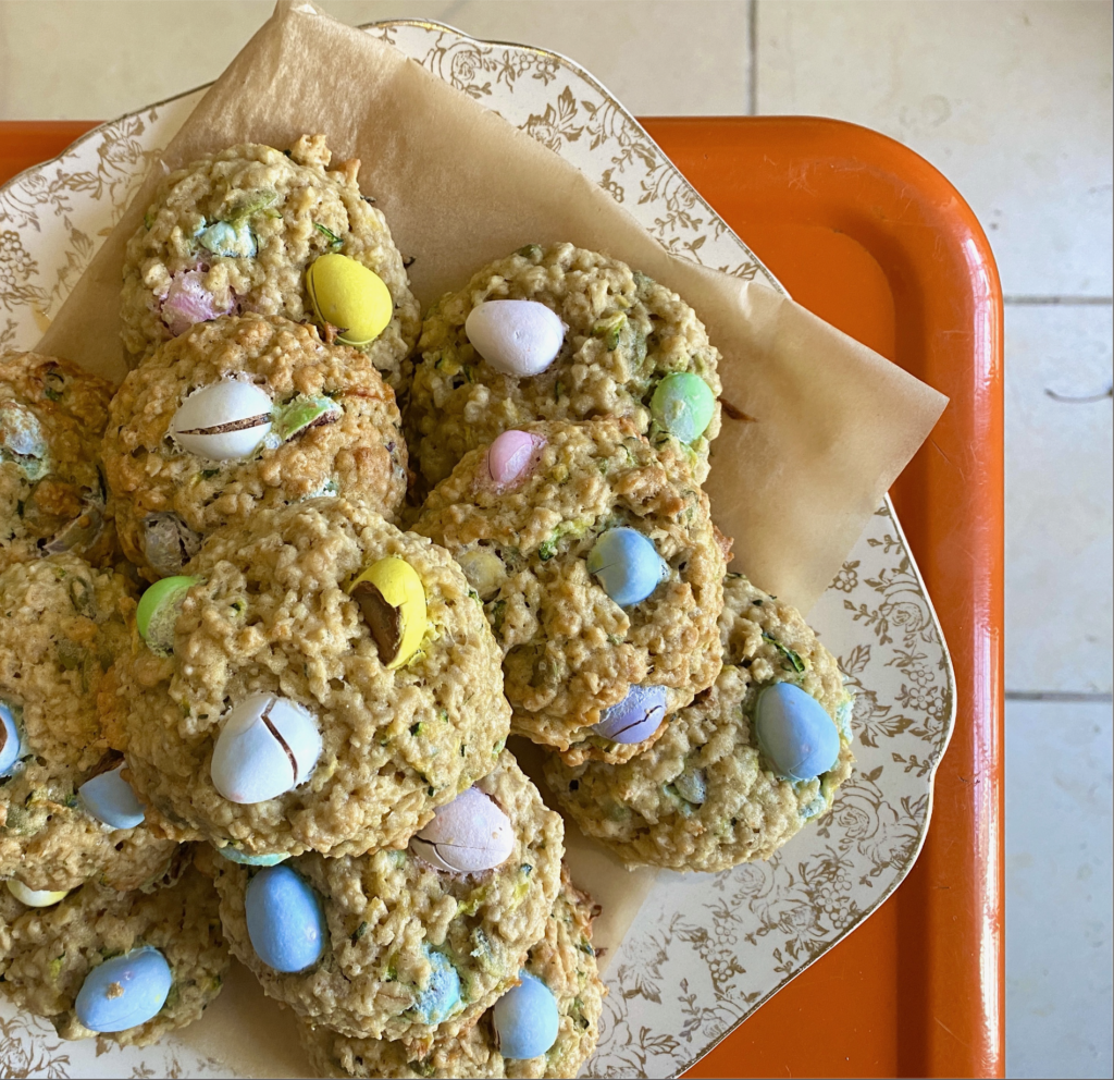 Easter basket cookies by Christine Tizzard
