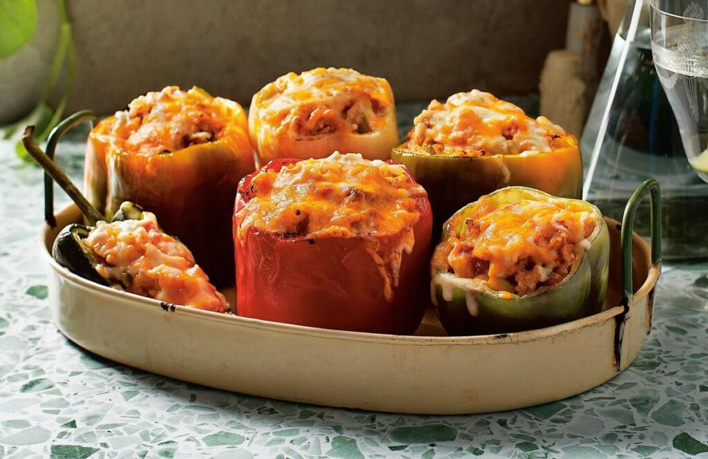 Stuffed Peppers by Christine Tizzard